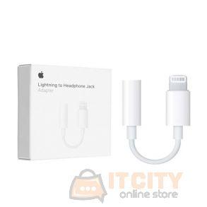 Apple Lightning To 3.5 Mm Headphone Jack Adapter (MMX62) – White