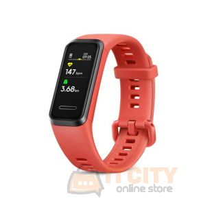 Huawei Smart Band 4 Fitness Tracker - Red