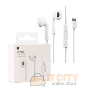 Apple Earpods with Lightning Connector MMTN2ZM/A - White
