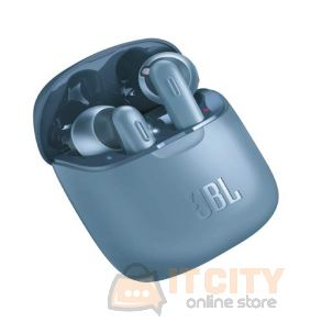 JBL True Wireless Earbuds (JBLT220TWSBLU) - Blue