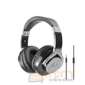 Motorola Pulse Max Wired Headphones - Black
