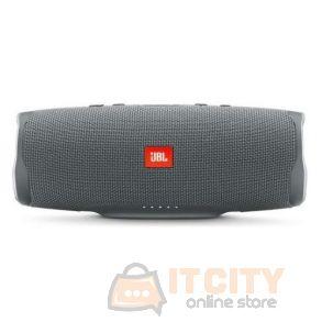 JBL Charge 4 Waterproof Portable Bluetooth Speaker - Grey