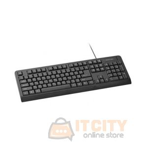Promate EasyKey-1 Professional Arabic and English Keyboard - Black