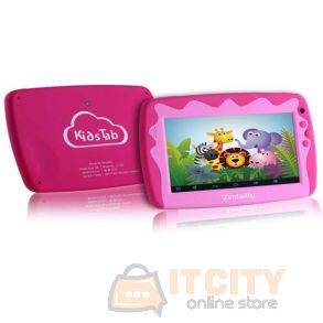Zentality C-703 kidz 7-inch 8GB WIFI Only Tablet - Pink