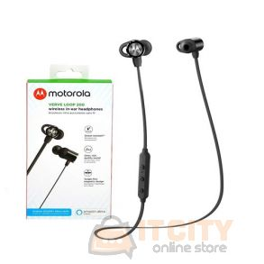 Motorola Verveloop 200 Wireless Bluetooth in-ear Headphone - Black