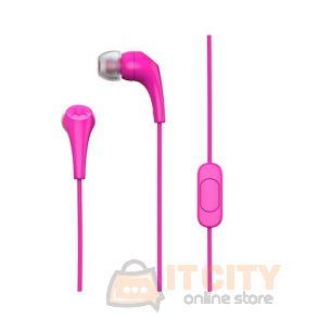 Motorola Earbuds 2 Wired Earphones - Pink