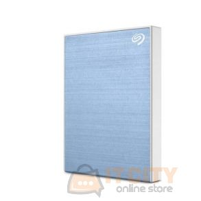 Seagate 4TB Backup Plus USB 3.0 External Hard Drive - Light Blue