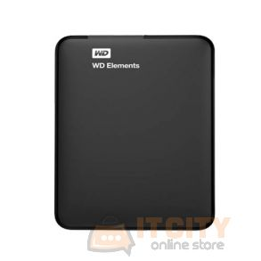 WD Elements 1TB USB 3.0 2.5-inch Portable Hard Drive - Black