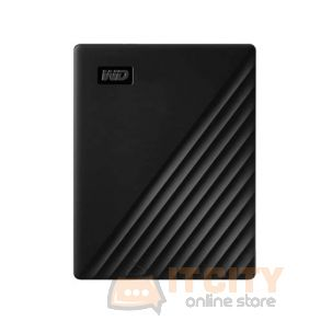 WD 4TB My Passport Portable External Hard Drive (WDBPKJ0040BBK-WESN) - Black