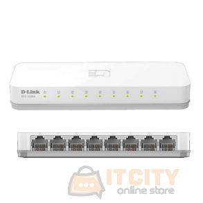 D-Link 8-Prot 10/100 Desktop Switch (DES-1008A)