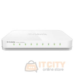 D-Link Switch 8 Port Gigabit Unmanaged (DGS-1008A)