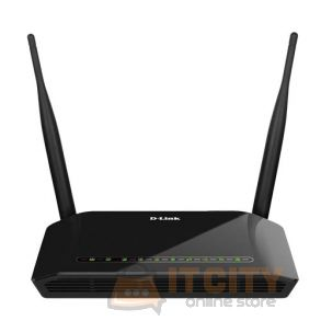 D-Link WiFi ADSL2/2+ Router N300 (DSL-2790U) - Black