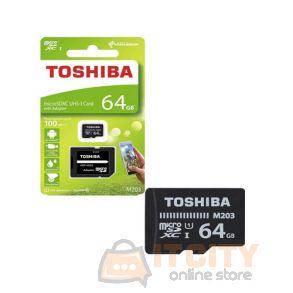 Toshiba 64GB Micro SD THN-M203K0640EA