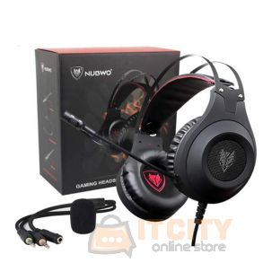 NUBWO N2 Gaming Headset -  Black