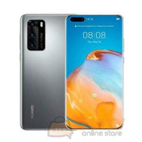 Huawei P40 Pro 5G 128GB/8GB 6.1 Inch Phone - Silver Frost