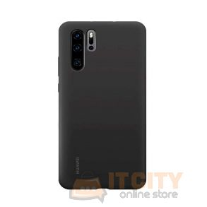 Huawei P30 Pro Silicone Case - Black