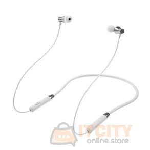 Lenovo HE05 Bluetooth 5.0 Magnetic Neckband Earphones Sport Earbuds - White