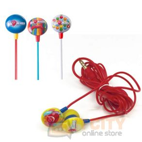 `iHip AIRHEADS Candy Stereo Earbuds With Built-in Microphone