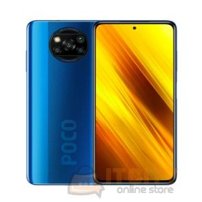POCO X3 NFC 128GB/6GB 6.67 Inch Phone -  Cobalt Blue