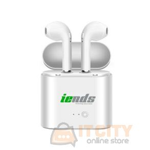 Iends TWS-F17 Earbuds with Portable Charging Case