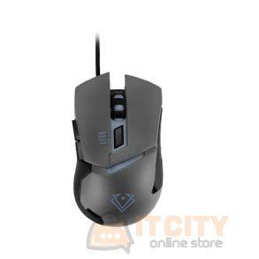 Vertux Dominator Quick Response Ergonomic Gaming Mouse - Grey