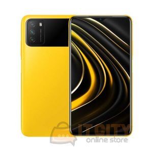 Poco M3 64GB/4GB 6.53 Inch Phone - Yellow