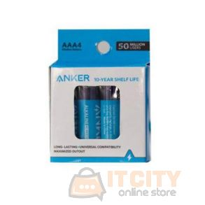 Anker Alkaline AAA Batteries 4-Pack