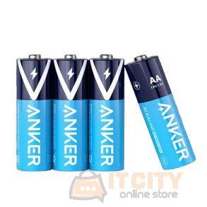 Anker Alkaline AA Batteries 4-Pack