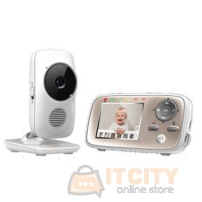 Motorolla 2.8Inch Video Baby Monitor With WI-FI Camera - White