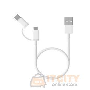 Xiaomi Mi 2-in-1 USB Cable (Micro USB to Type-C 100cm)