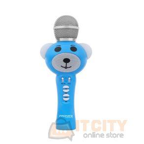 Promate RockStar-2 Wireless Karaoke Microphone - Blue