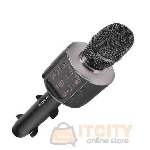 Promate VocalMic-4 Multi-Purpose Wireless Karaoke Microphone - Black