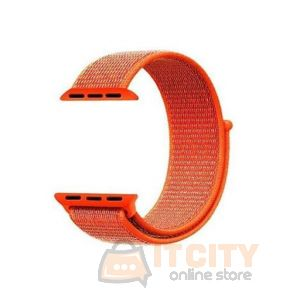 Smart Watch Nylon Strap - Orange