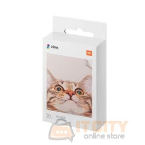 Xiaomi Mi Portable Photo Printer Paper, 2x3 Inch 20 sheets