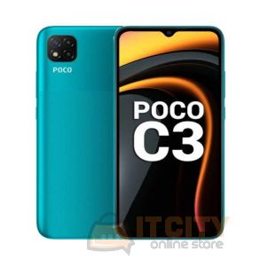 POCO C3 32GB/3GB 6.5 Inch Phone - Lime Green
