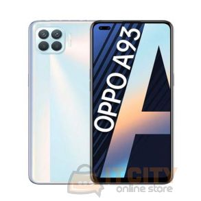 Oppo A93 128GB/8GB 6.4 inch Phone  - Metallic White