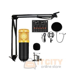 Broadcasting And Recording Microphone