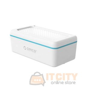 Orico (BST-BL-BP) Multifunctional Storage Box - Blue/White