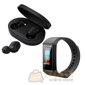 Xiaomi Mi true wireless Earbuds Basic With Mi Band 4C