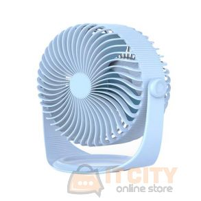 Orico (WT-S1-BL-BP) USB Vertical Mini Fan - Blue