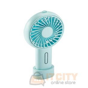 Orico (WT-H1-BL-BP) Handhold/Desktop USB mini Fan - Blue