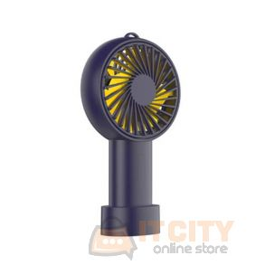 Orico (WT-H1-DB-BP) Handhold/Desktop USB mini Fan - Dark Blue