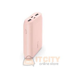 Belkin 10000mah  Boost Charger Power Bank 10K (Multi-port) - Pink