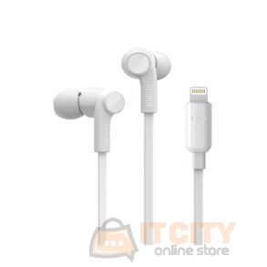 Belkin headphones With Lightning Connector - White