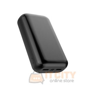 Golf 30000mAh Goban PD+ QC Fast Charger Power Bank - Black