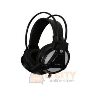 HP H-100 Gaming Headset With Mic - Black