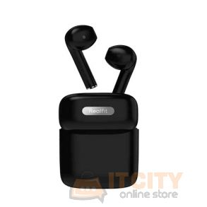 Realfit GoPods E3 Wireless Bluetooth Earbuds - Black