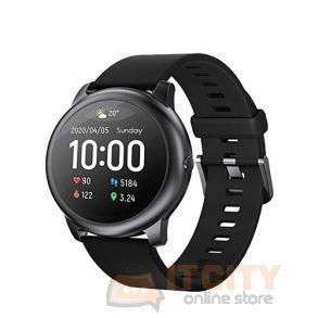 Haylou LS05 Solar Smart Watch - Black