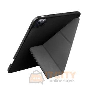 Uniq Transform iPad pro 12.9 (2021) Antimicrobial - Ebony Black