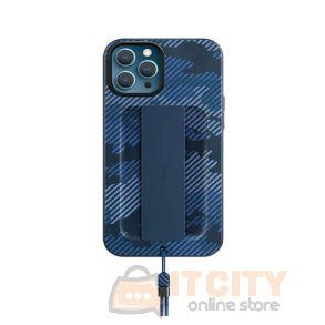 Uniq Hybrid Case for iPhone 12 Pro Max Heldro Designer Edition Antimicrobial - Marine Camo